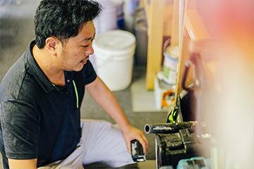 YKYは経験年数22年以上の職人が在籍!