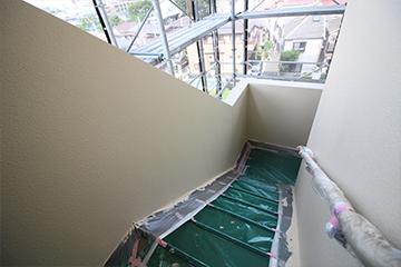 床・廊下塗装