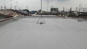 所沢市 シート防水改修工事